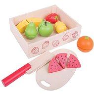 Bigjigs Krájení ovoce v krabičce - Herná súprava