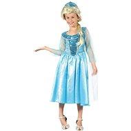 Šaty na karneval - Ľadová princezná veľ. S - Detský kostým