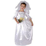 Šaty na karneval - Nevěsta vel. M - Detský kostým