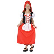 Šaty na karneval - Červená karkulka vel. S - Detský kostým