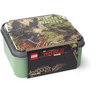 LEGO Ninjago box na svačinu - army zelená