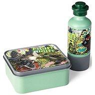 LEGO Ninjago desiatový set (fľaša a box) - army zelená
