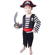 Rappa Pirát s čepicí, vel. XS - Detský kostým