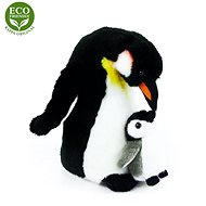 Rappa Plyšový tučňák s mládětem
