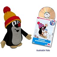 Krtek 25 cm červeno-žlutý kulich + DVD