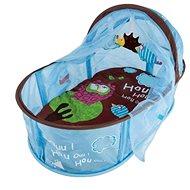 Ludi Cestovná postieľka pre bábätko Nomad modrá - Detský nábytok