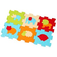 Ludi 46,5x31,5cm Zvieratká - Penové puzzle