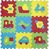 Ludi 84x84 cm Dopravné prostriedky - Penové puzzle