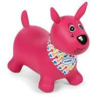 Ludi Skákacie pes ružový - Detské skákadlo