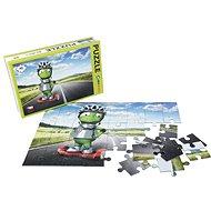 Alza Puzzle 40 dielikov - Mimozemšťan Alza na Gyroboardu - Puzzle