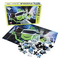 Alza Puzzle 160 dielikov - Mimozemšťan Alza vo VR - Puzzle