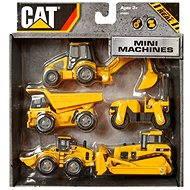 Nikko CAT stavebné stroje 5ks - Súprava