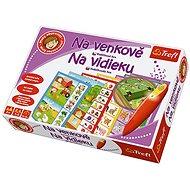 Trefl Malý objaviteľ - Farma - Vzdelávacia hračka