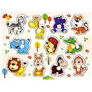 Drevené puzzle safari, 11 dielikov - Puzzle