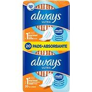 ALWAYS Ultra Normal Plus 20 ks - Hygienické vložky