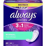 ALWAYS Fresh & Protect Normal intímky 60 ks - Slipové vložky