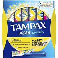 TAMPAX Compak Pearl Regular (18 ks) - Tampóny