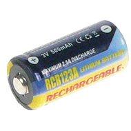 AVACOM za CR123A, CR23, DL123A pon. lítium 3 V, 500 mAh - Náhradná batéria