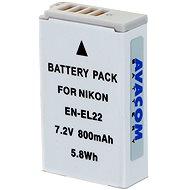 AVACOM za Nikon EN-EL22 Li-ion 7,2 V, 800 mAh, 5,8 Wh, verzia 2014 - Náhradná batéria