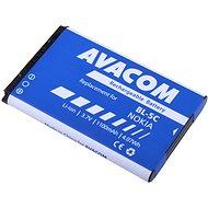 AVACOM za Nokia 6230, N70, Li-ion 3.7V 1100mAh (náhrada BL-5C) - Náhradná batéria