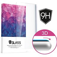Icheckey 3D Curved Tempered Glass Screen Protector Black pro Iphone 6