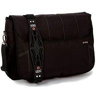 """i-Stay Black 15.6 """"& Up to 12"""" Laptop / Tablet Messenger Bag - Taška na notebook"""