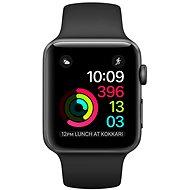 Apple Watch Series 1 38mm Vesmírne šedý hliník s čiernym športovým remienkom - Inteligentné hodinky