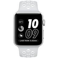 Apple Watch Series 2 Nike+ 42mm Strieborný hliník s platinovo bielym športovým remienkom Nike - Inteligentné hodinky