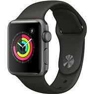 Apple Watch Series 3 38 mm GPS Vesmírne sivý hliník so sivým športovým remienkom