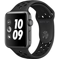 Apple Watch Series 3 Nike+ 42mm GPS Vesmírne sivý hliník s antracitovým sportovním řemínkem Nike - Inteligentné hodinky