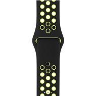 Apple Šport Nike 38mm Čierny / Volt - Remienok