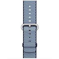 Apple 38mm Půlnočně modrý z tkaného nylonu (prošívaný)