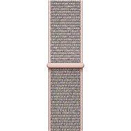 Apple 42 mm pieskovo ružový prevliekací športový - Remienok