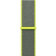 Apple 42 mm Žiarivo žltý prevliekací športový - Remienok
