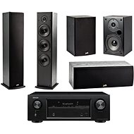 DENON AVR-X540BT + reprosústava Polk Audio T50 + T30 + T15