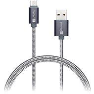 CONNECT IT Wirez Premium USB-C 1m dark grey - Dátový kábel