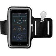 CONNECT IT CFF-1150-BK Fitness Armband, Black - Puzdro na mobilný telefón