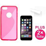 CONNECT IT S-Cover iPhone 6 PLUS/6s červený - Ochranný kryt