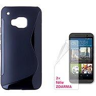 CONNECT IT S-Cover HTC One M9 čierny - Ochranný kryt