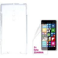 CONNECT IT S-Cover Microsoft Lumia 830 číre - Puzdro na mobilný telefón