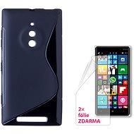 CONNECT IT S-Cover Microsoft Lumia 830 čierne - Puzdro na mobilný telefón