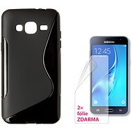 CONNECT IT S-Cover Samsung Galaxy J3/J3 Duos 2016 (SM-J320F) čierne - Ochranný kryt