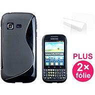CONNECT IT S-Cover Samsung Galaxy Chat (B5330) čierne - Puzdro na mobilný telefón