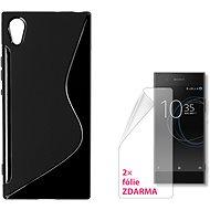 CONNECT IT S-Cover Sony Xperia XA1 čierne - Ochranný kryt