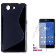CONNECT IT S-Cover Sony Xperia Z3 Compact čierne - Ochranný kryt
