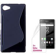 CONNECT IT S-Cover Sony Xperia Z5 Compact čierny - Ochranný kryt