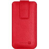 CONNECT IT U-COVER veľ. S, červené - Puzdro na mobilný telefón