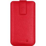 CONNECT IT U-COVER vel. XL, červené - Puzdro na mobilný telefón