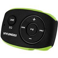 Hyundai MP 312 4GB čierno-zelený - MP3 prehrávač