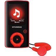 Hyundai MPC 883 FM 8GB červená - MP4 prehrávač